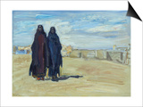 Sudanese Women, 1914 Prints by Max Slevogt