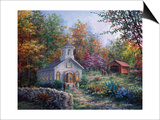 Worship in the Country Prints by Nicky Boehme