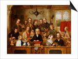 The Village Choir Posters by John Watkins Chapman