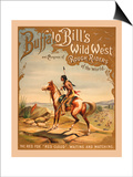 Buffalo Bills Wild West I Posters