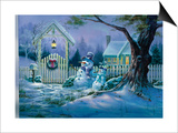 Seasons Greeters Print by Michael R. Humphries