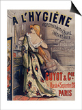 L'Hygiene Hydrothermotherapie Poster