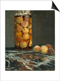 The Peach Glass, 1866 Poster by Claude Monet
