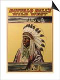 Buffalo Bills Wild West V Posters