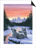 Winter's Dawn Prints by Jeff Tift
