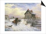 Wintertime Affiches par Kevin Dodds