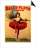 Sells-Floto Circus Art