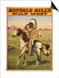Buffalo Bills Wild West IV Art