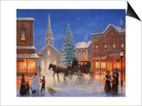 Christmas in Pleasantville Prints by John Zaccheo