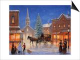 Christmas in Pleasantville Prints by John Zaccheo