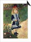 Girl with Watering Can, 1876 Poster von Pierre-Auguste Renoir