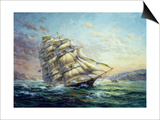 Clipper Ship Surprise Posters by Nicky Boehme