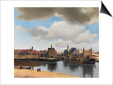 View of Delft, C.1660-61 Prints by Jan Vermeer