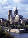 Notre Dame, Paris Photographic Print by Sigrid Schutze-Rodemann