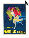 Gautier Freres Cognac Prints by Leonetto Cappiello