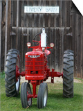 Old tractor, Indiana, USA Posters af Anna Miller