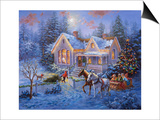 Welcome Home Print by Nicky Boehme