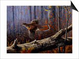 Windfall Glider - Ruffed Grouse Posters by Wilhelm Goebel
