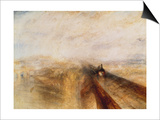 Rain, Steam, and Speed (The Great Western Railway), 1844 Print by Joseph Mallord William Turner