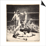 Counted Out, 1921 Prints by George Wesley Bellows