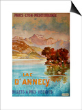 Lac D'Annecy III Posters