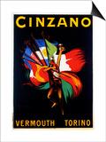 Cinzano Vermouth Torino Posters