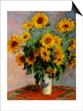 Bouquet of Sunflowers Posters