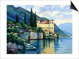 Reflections of Lago Maggiore Sztuka autor John Zaccheo