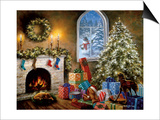 Not a Creature Was Stirring Poster by Nicky Boehme