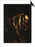 St, Joseph, the Carpenter, C. 1642 Posters by Georges de La Tour