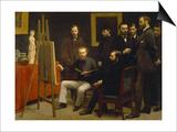 Un Atelier Aux Batignolles, 1870 Prints by Henri De Fantin-latour