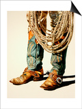 Boots and Rawhide Rope 1 Posters by Laurin McCracken