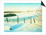 Winter Wonderland Poster par Kevin Dodds