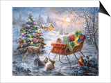 Tis' the Night before Xmas Posters by Nicky Boehme