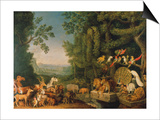 The Conference of the Animals From: Reynard the Fox Posters by Johann Heinrich Wilhelm Tischbein