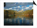 Vista of Grand Lake, Colorado Posters by John Zaccheo