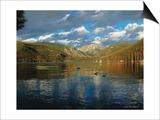 Vista of Grand Lake, Colorado Posters by John Zaccheo