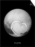 Pluto's Heart Prints by APL, SwRI, NASA