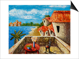 Playa Gorda II Reprodukcje autor Oscar Ortiz