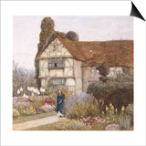 Old Manor House Prints by Helen Allingham