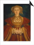 Portrait of Anne of Cleves, 1539 Prints by Hans Holbein the Younger