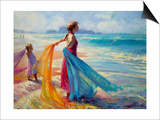 Into the Surf Prints by Steve Henderson