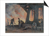Mill, 1900 Prints by Maximilien Luce