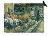 Wannsee-Garden Print by Max Liebermann