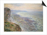 The Sea at Fecamp, 1881 Print by Claude Monet