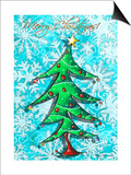 Christmas Tree 1 Prints by Megan Aroon Duncanson