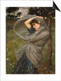 Boreas Prints by John William Waterhouse