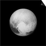 Pluto Print by APL, SwRI, NASA