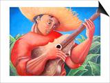 Musician Prints by Oscar Ortiz