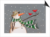 Snowman Posters by Margaret Wilson